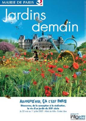 jardins paris éphémère