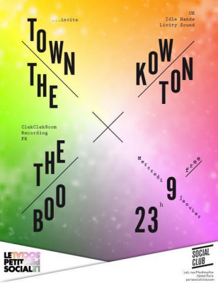 THE TOWN invite KOWTON, THE TOWN, THE BOO @ SOCIAL CLUB