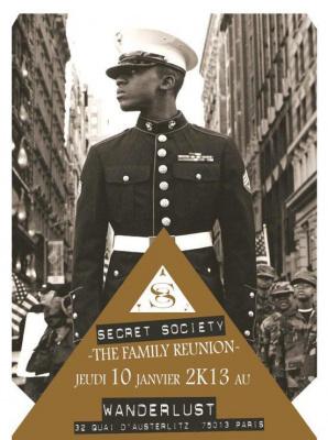 SECRET SOCIETY présente THE FAMILY REUNION