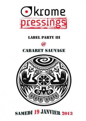 KromePressings label party