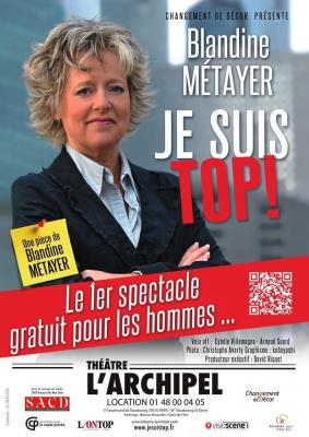 Je suis Top ! de Blandine Métayer