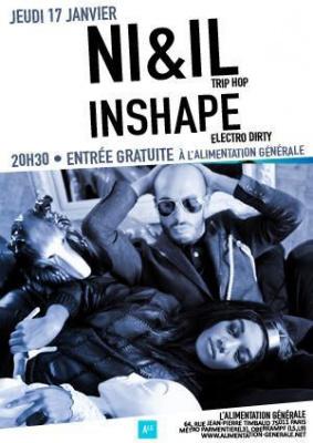 Inshape Live @L'alimentation Générale