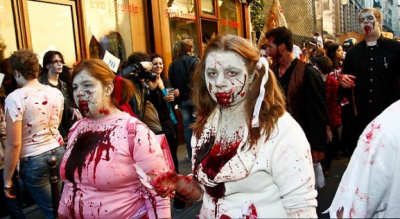 La Zombie Walk à Paris
