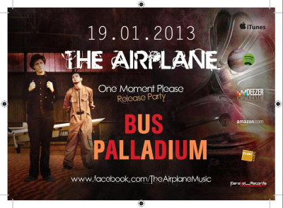 The Airplane + Camera + Rough Infuence: Concert Release Party