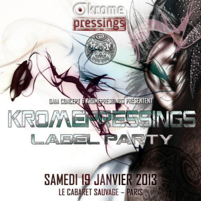 KromePressings label party