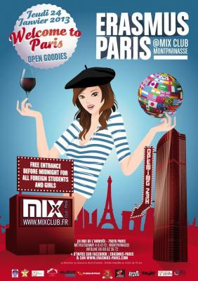 Erasmus Paris : Welcome to Paris