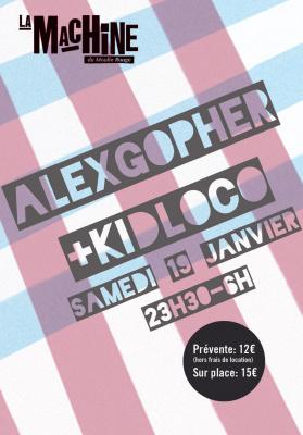 Alex Gopher + Kid Loco