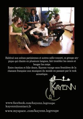 concert kayenn