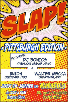 LA CLAQUE AMERICAINE – PITTSBURGH EDITION feat. DJ BONICS from TAYLOR GANG