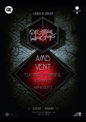 Digital Whomp 3: AMB, Vent, Flatmate, Parsifal, TSF Collectif