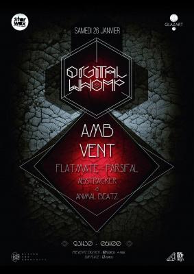 Digital Whomp 3: AMB, Vent, Flatmate, Parsifal, TSF Collectif