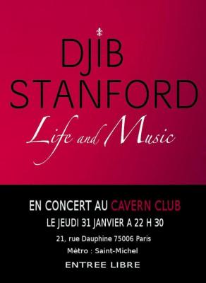 Djib Stanford en concert au Cavern Club