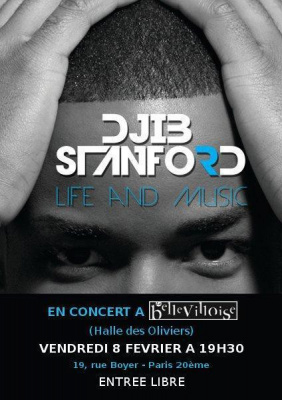 Djib Stanford en concert à la Bellevilloise
