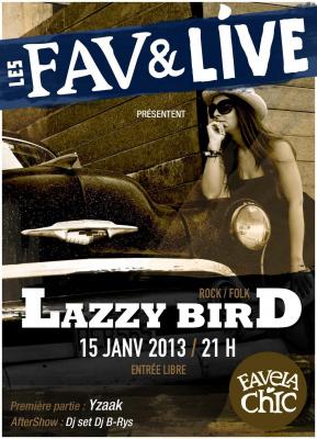 Lazzy Bird en concert