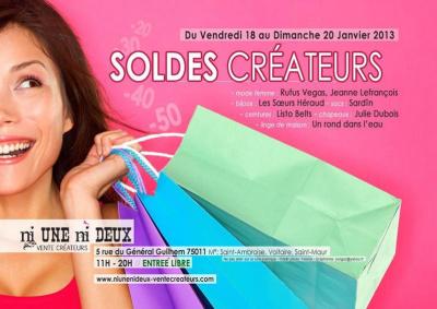 SOLDE CREATEURS / Paris 11