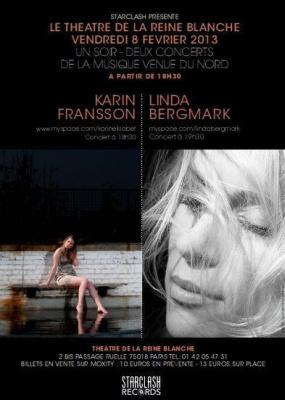 MUSIC FROM THE NORTH - CONCERT LINDA BERGMARK & KARIN FRANSSON