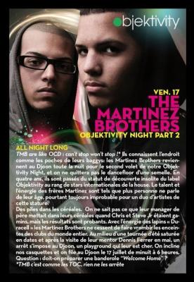 Objektivity, Martinez Brothers, paris, soirée, concerts, djoon