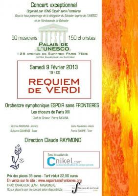 Requiem de Verdi - Espoir sans Frontières