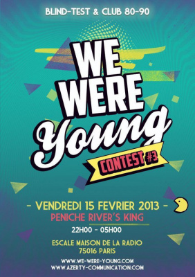 WE WERE YOUNG Contest #3