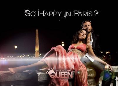 So happy in Paris 4 septembre Queen