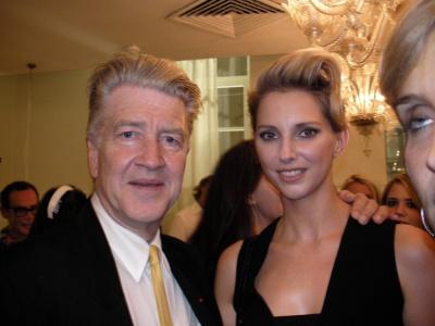 David Lynch et Frédérique Bel