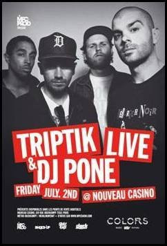 Triptik DJ Pone Nouveau casino