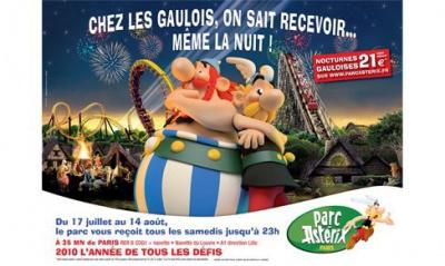 Nocturnes Parc Asterix