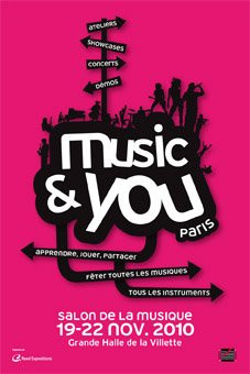 Affiche Salon de la musique