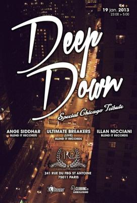 Deep Down @ In Out Paris