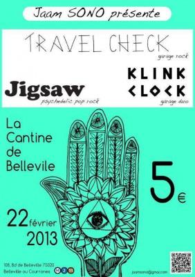 JIGSAW en concert @ La Cantine de Belleville