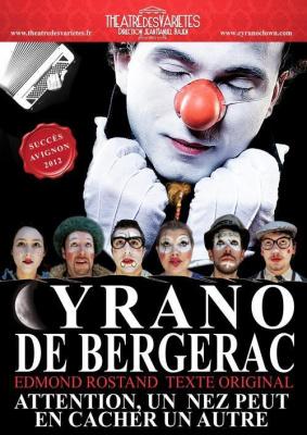 Cyrano de Bergerac - Texte originale - Version clownesque