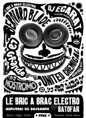 Bric à Brac, Electro, Batofar, Paris, Soirée, Clubbing