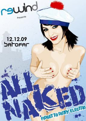 All Naked, Toxic Avenger, Natsuko, Da Carrot, Ecarat, Cap'10, Batofar, Soirée, Paris