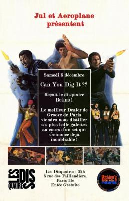 Can You Dig It , Betino, Disquaires, Paris, Soirée