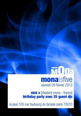 Mona is Five