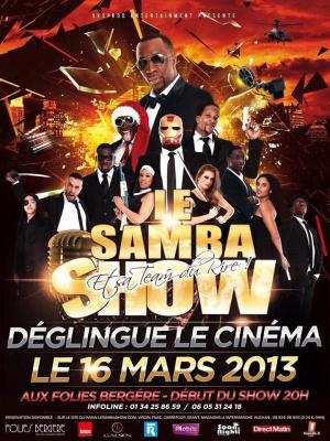 Le Samba Show et sa team du rire déglingue le cinéma