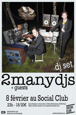 2Many Djs @ Social Club