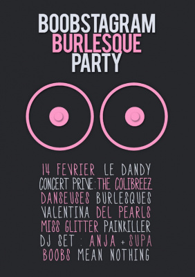 BOOBSTAGRAM BURLESQUE PARTY