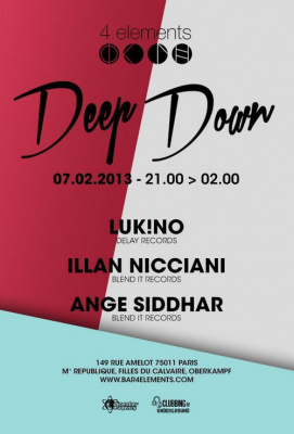 Deep Down @ 4 Elements Paris