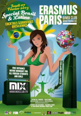Erasmus Paris : Special Bresil
