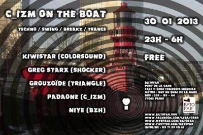 C_IZM on the Boat #2 @ Batofar - 30.01.13 - FREE