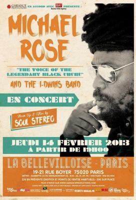 Michael Rose en Concert