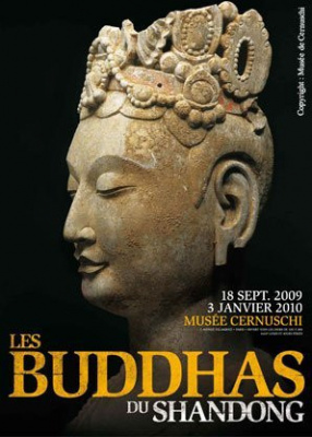 Buddhas, Shandong, Cernushi, Paris, Exposition