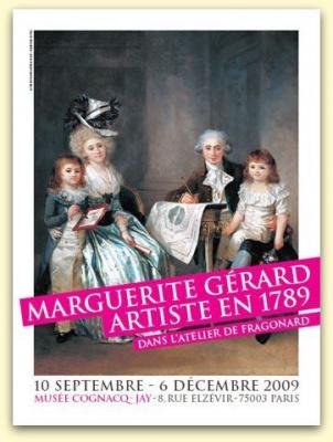 Marguerite Gérard, Jean-Honoré Fragonard, musée Cognacq-Jay, Exposition, Paris