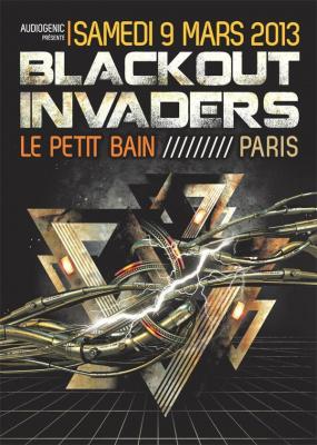 Blackout Invaders @ Paris