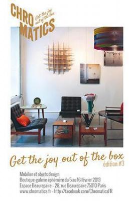 CHROMATICS- Get The Joy Out Of The Box edition #3 du 5 au 17 février 2013