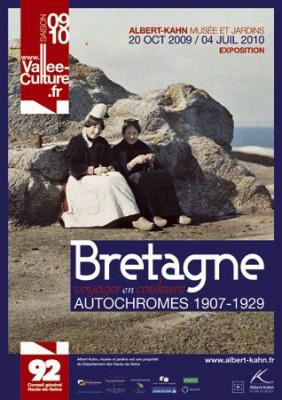 musée Albert- Kahn, Bretagne, photographies autochrome, Exposition, Boulogne-Billancourt