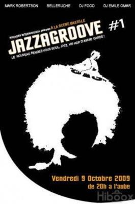 Jazzagroove, Belleruche, Mark Robertson, Dj Food, Emile Omar, Scène Bastille, Concert, Soirée, Paris