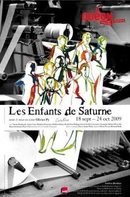 Enfants de Saturne, Olivier Py, Théâtre, Odéon, Paris