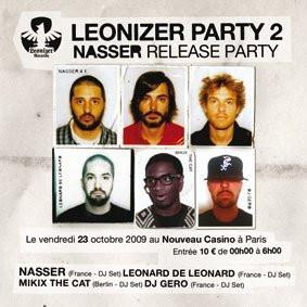 Leonizer, Leonard, Gero, Nouveau Casino, Soirée, Paris, Clubbing